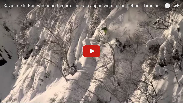 fantastic freeride in Hakuba