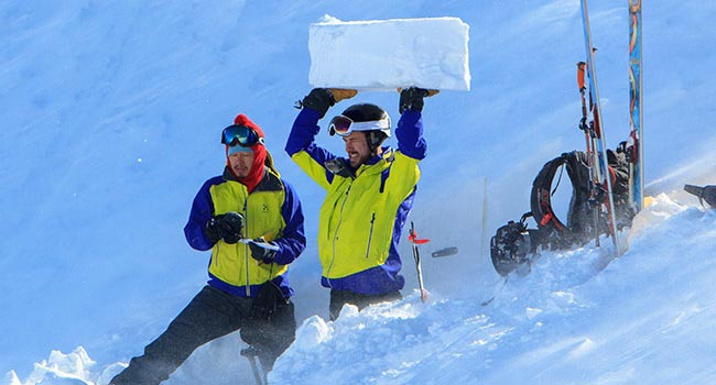 Avalanche skills training is essential if you plan to safely enjoy powder skiing Japan.