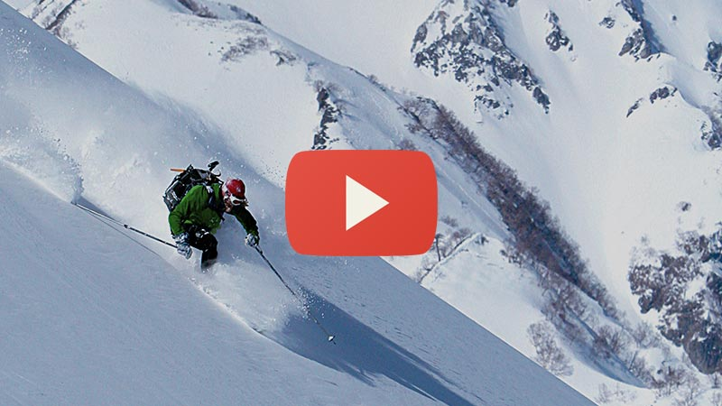 expert backcountry tours in hakuba