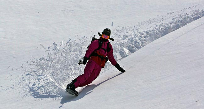 hakuba backcountry tours - usagi tour