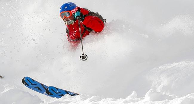 白馬野雪行程