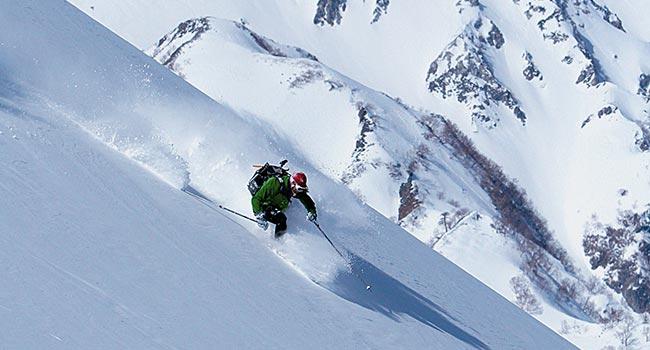 白馬登山滑雪行程專家級