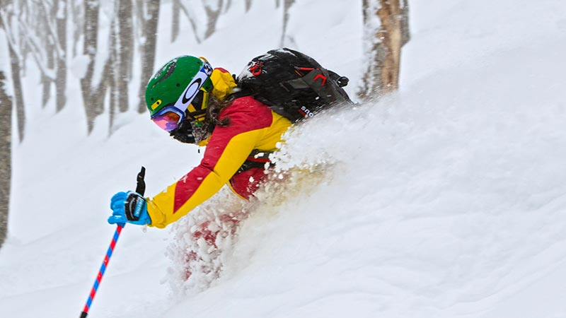 advanced off piste tours in hakuba