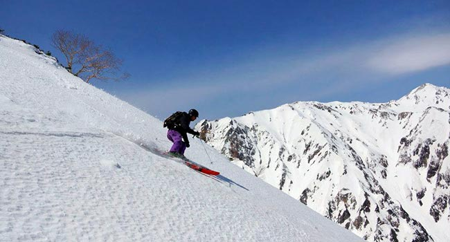 backcountry tours in hakuba - kitsune tour