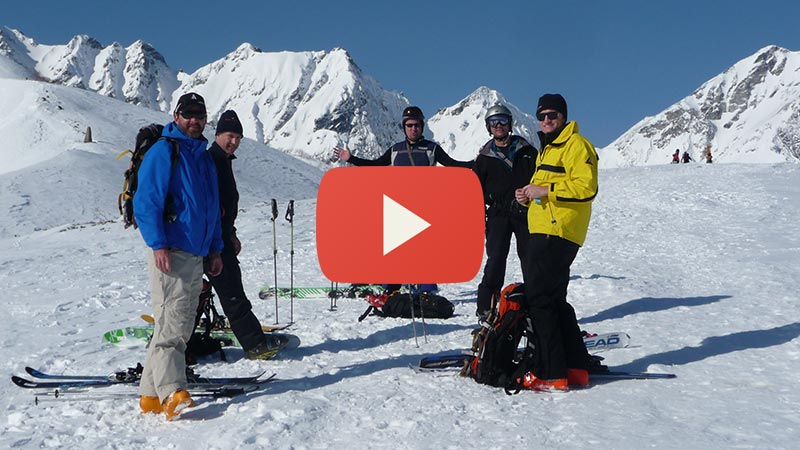private backcountry tours in hakuba