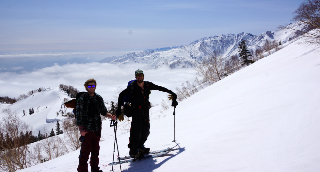 hakuba backcountry tours - intro to backcountry tour