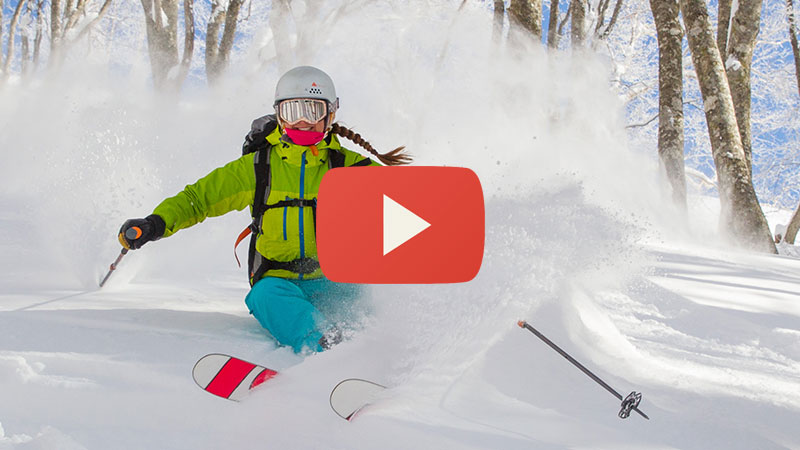 intro to off piste in hakuba