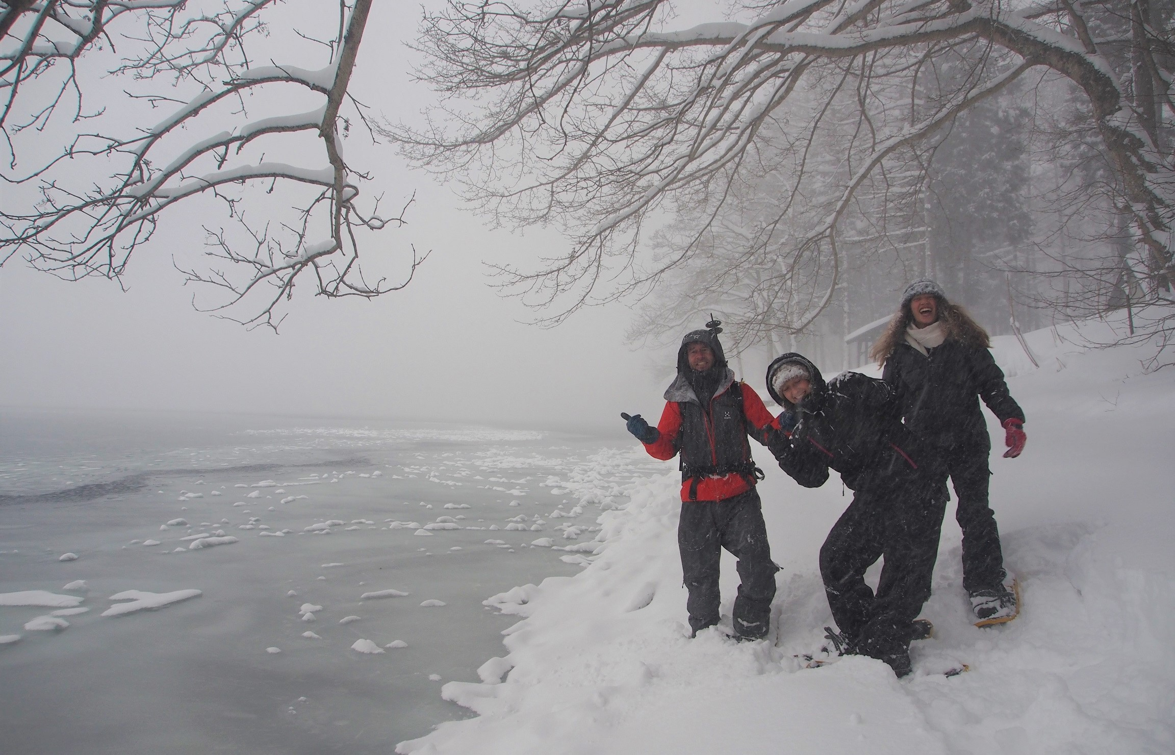 private hakuba snowshoe tours