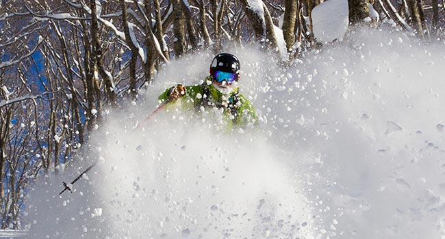 private off piste tours in hakuba