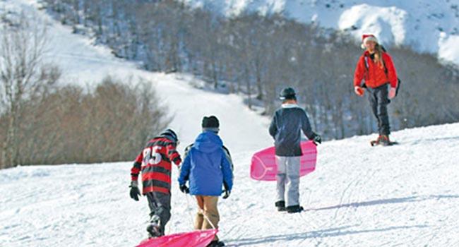 xmas snowshoe tours in hakuba