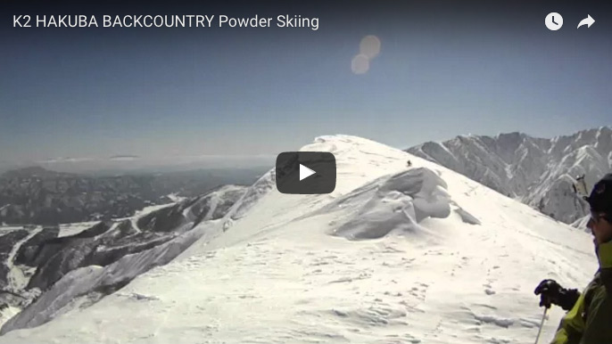 K2 Hakuba Backcountry Powder Skiing